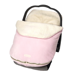 Car Seat Cover Baby Infant Girl Pink Carseat Carrier Canopy Bundle