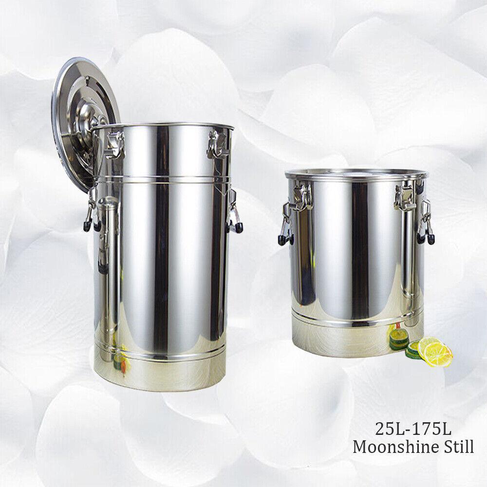 25L-175L Fermenter Tank For Moonshine Still Storage Food 304 Stainless steel