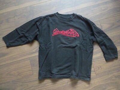 *** Squad *** Giovani Felpa-pullover-maglione-tg. 152-nero Rosso * Top *-mostra Il Titolo Originale