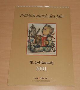 Hummel-Figuren-Wandkalender-2001-Groesse-42x30cm