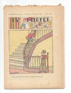 En Patufet Nº 1674 Mayo 1936. Revista Infantil Catalanista. Barcelona Les Couleurs Sont Frappantes