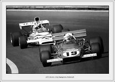 Ferrari 1972-Clay Regazonni-Oostenrijk`Vintage Photograph