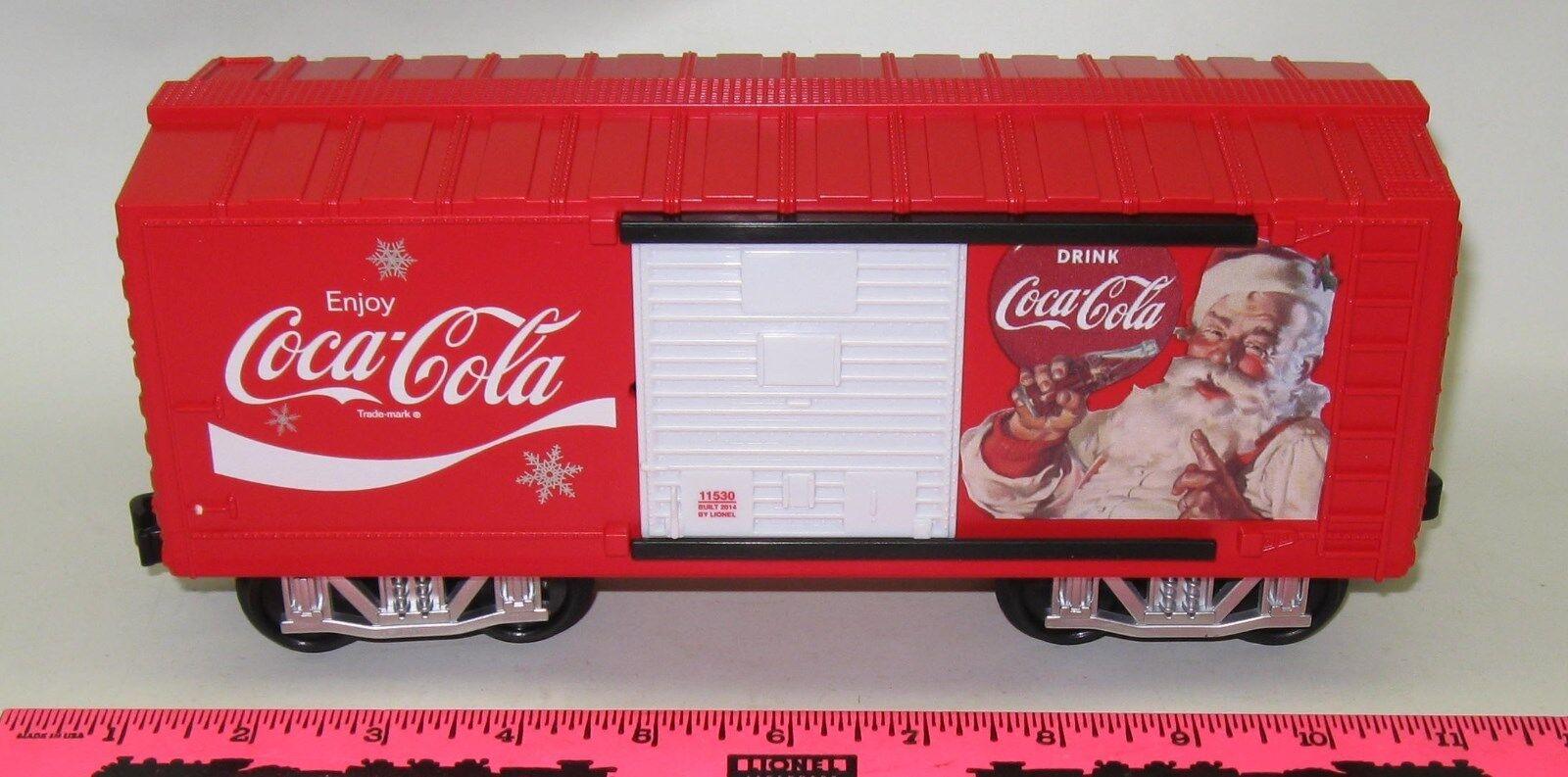 Lionel new Coca-Cola Coca-Cola Coca-Cola Holiday G-Gauge