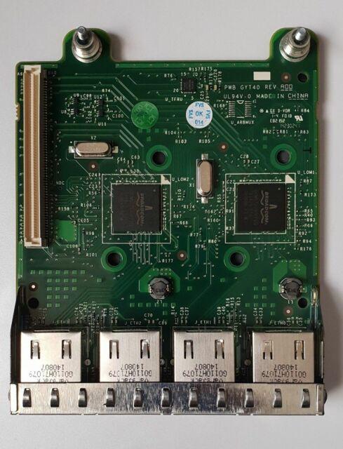 Dell Power Edge fm487 0fm487 Broadcom 5720 Quad Port Ethernet 1gbe Netzwerk Karte 1