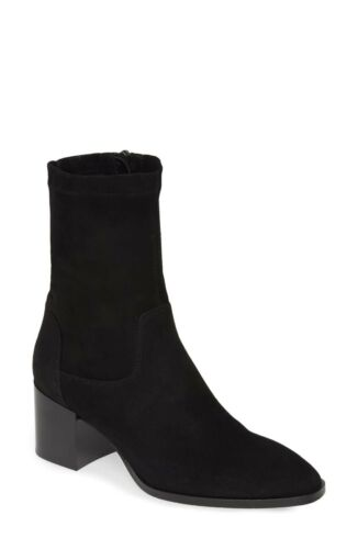 Aquatalia Tilly Bootie: Size 8: Black (109)