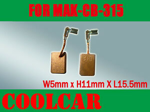 Carbon Brushes For Makita CB330 CB318 CB325 9563CV 9553NB 9554NB 9555NB Grinder