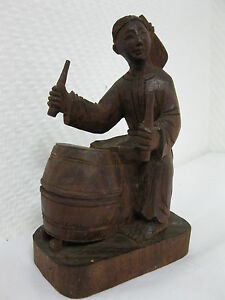 Original-Antiguo-Tallado-De-Aprox-1900-Antiguo-Chino-Arte-Popular