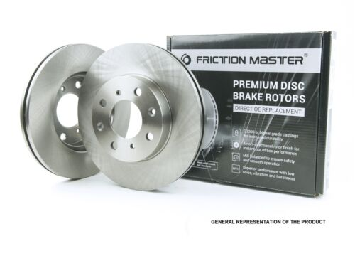 Front Brake Kit Pair of 2 Rotors and Set of 4 Metallic Pads BK1655m