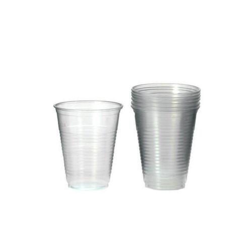 durchsichtige Plastikbecher für Partys /& Co. 50 x transparente Becher je 0,4 l