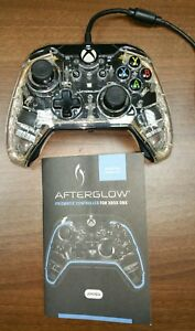 Details about XBox One Afterglow Dual Vibration Wired Gamepad Controller +  USB & Instructions