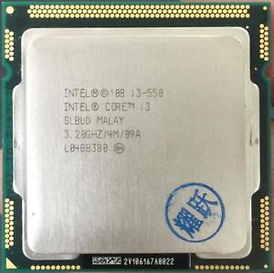 Intel Core i3 550 SLBUD 3.2GHz 4MB LGA1156 CPU Processor