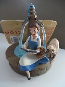 New-DISNEY-STORE-Beauty-and-The-Beast-Singing-BELLE-Sketchbook-Ornament