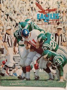 1966-Philadelphia-Eagles-Program-September-25-1966-Rare-Excellent-Condition