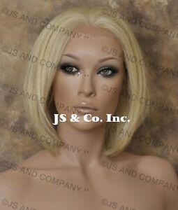 Human-Hair-Blend-Lace-Front-Wig-HEAT-SAFE-Pale-Blonde-WBMC-613