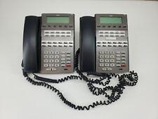 Lot Of 2 Nec Dsx 22b Telephone Black Display Speakerphone 1090020 Dx7na 22btxh