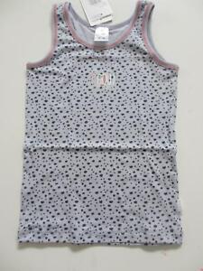 Verantwortlich Schiesser Hemd / Unterhemd Katze Girls 163348 Neu Hellgrau Muster Cat Zoe 100% Hochwertige Materialien