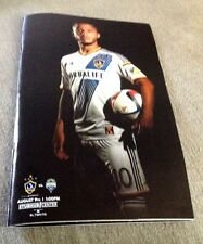 Giovani Dos Santos Los Angeles Galaxy FIRST MLS GAME!! Game Magazine   8/9/2015