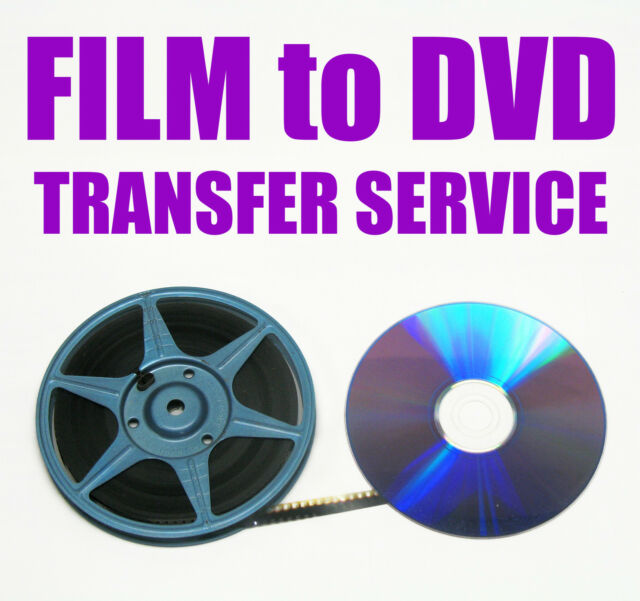 REGULAR 8mm, SUPER 8mm FILM TO DVD OR DIGITAL FILES TRANSFER -