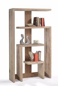 Libreria aperta a giorno in legno abete vecchio cm 101x32 h 176 ...