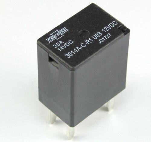 4pcs Song Chuan Micro Relay SPST 301-1A-C-R1-U03 35A 14vdc 12vdc