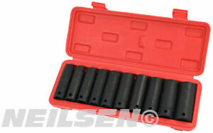10-PEZZI-1-3cm-scuro-chiave-a-bussola-ad-impatto-set-in-BORSA-10-11-13-14-17-18
