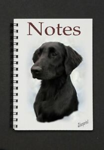 Flatcoated-Retriever-Notebook-Notepad-By-Starprint