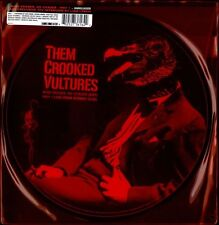 """Them Crooked Vultures Record Store Day 10"""" Vinyl Record queens of stone age led+"""