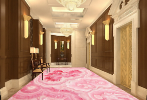 3D Pink Marble Texture 46 Floor WallPaper Murals Wall Print Decal AJ WALLPAPER