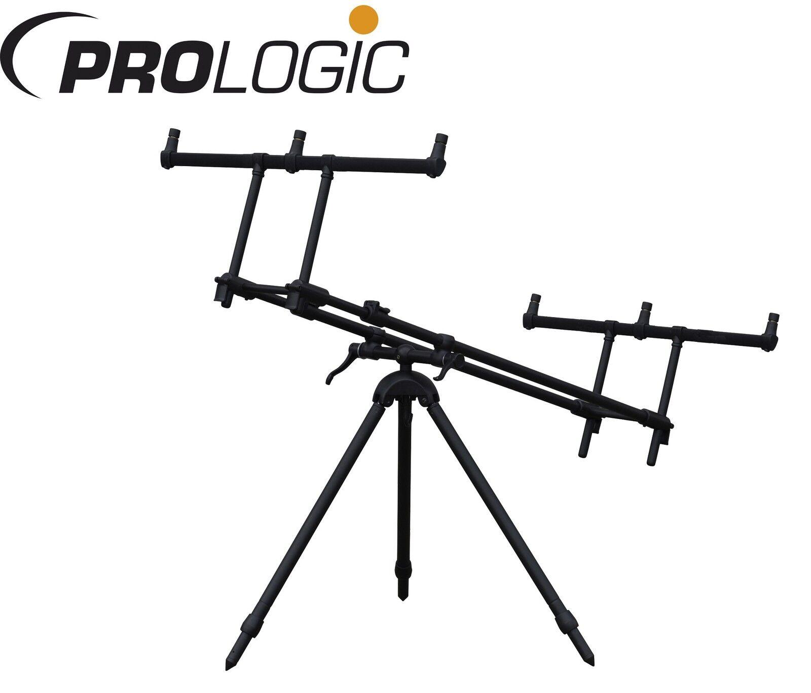 Prologic Tri-Lux Rod Pod für 3 Karpfenruten, Rutenständer für für Rutenständer Angelruten 2a166c