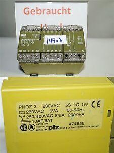 Pilz-Pnoz-3-Sicherheitsschaltgeraet-474856
