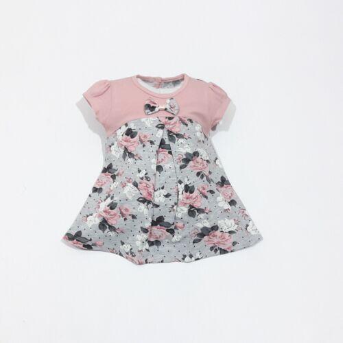 Nuevo ♥ ♥ ropa de bebé1 piezasvestidotalla 68; 74; 80; 86