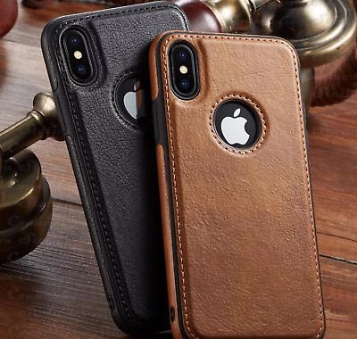 COVER PELLE SOTTILE IPHONE 7 8 PLUS X XS XS MAX XR 11 PRO MAX 12 SE 2020 MINI | eBay