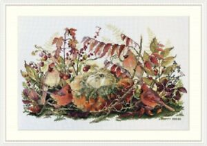 Rhapsody in Red - Merejka - Counted Cross Stitch Kit New