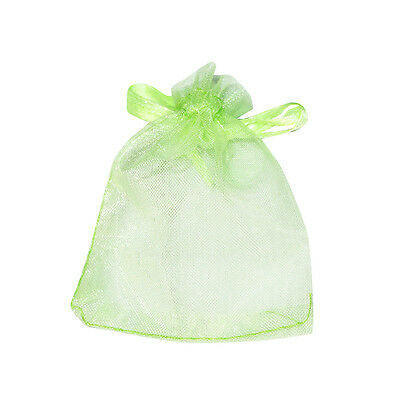 "12/25/50/100 pcs New Organza Jewelry Wedding Gift Pouch Bags 7x9cm 2.7*3.5"" Q"
