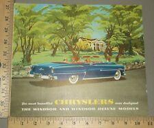 1953 Chrysler Windsor Brochure Original