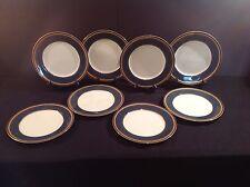 Mikasa Grande Ivory Imperial Lapis Dinner Plates Set of 8 Plates L2826