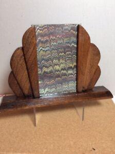 ART DECO 1930 S en bois cadre photo