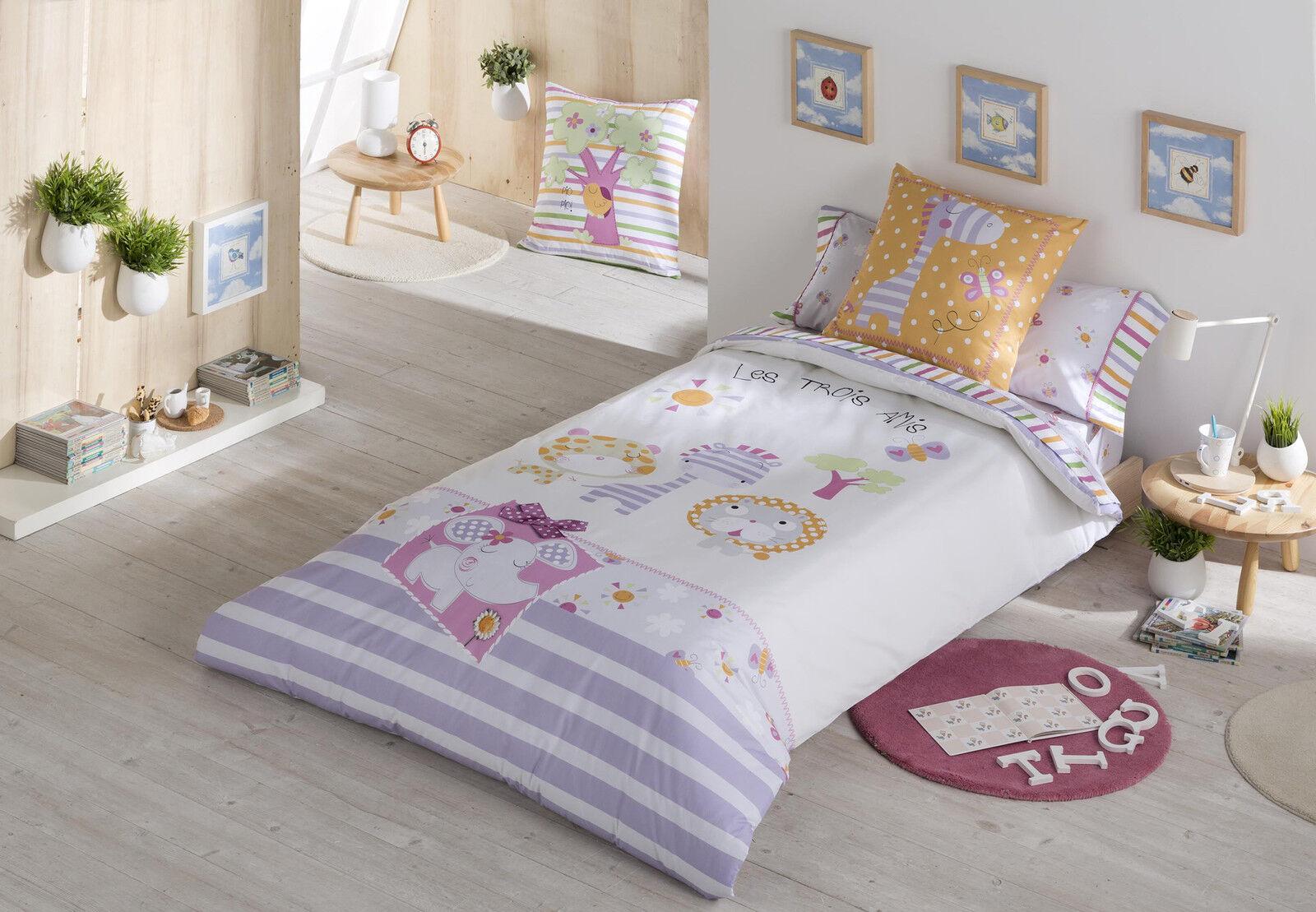 Funda nordica infantil  friends 90, 105  calidad 100%  105 algodón 200 hilos percal fcd87b