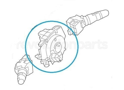 NEW 25560-ZP53C 25560-ZP52C FITS FOR NISSAN PATHFINDER 06-10 CLOCK SPRING+2 WIRE