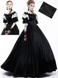 Robe Bal Princesse Gothique Victorien Baroque Romantique Satin Dentelle Punkrave Ebay