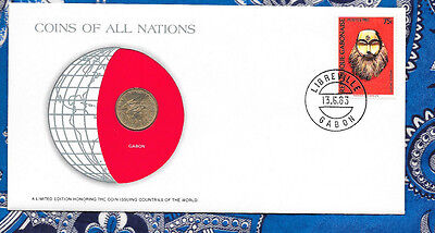 Coins of All Nations Tonga 5 Seniti 1977 UNC