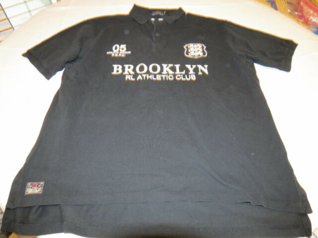 Polo Ralph Lauren RL Athletic Club Mens shirt XLT Tall M Brooklyn 7115906 black