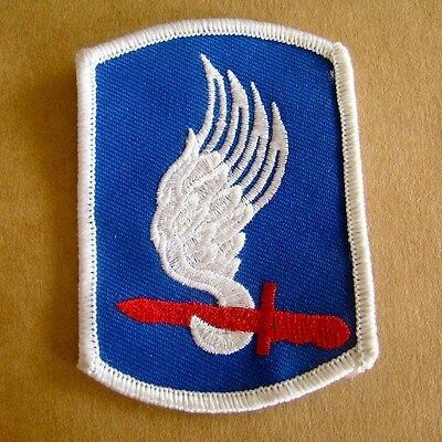 """SEW-ON EMBROIDERED PATCH 3/""""X 3/"""" 173RD AIRBORNE BRIGADE  SKY SOLDIERS IRON-ON"""