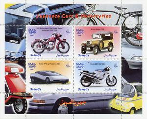 Somalia 1999 Mnh Japanese Cars Motorcycles Honda Nissan Datsun 4v M S Stamps Ebay