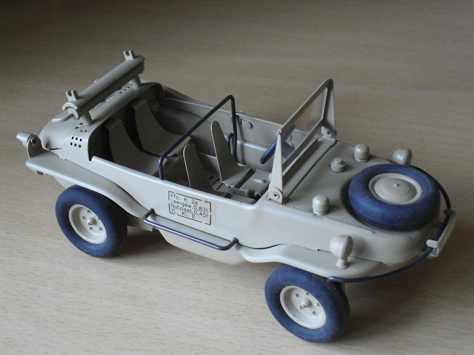 VW Schwimmwagen Wehrmacht WK II Vollmetallmodell Maßstab 1 24