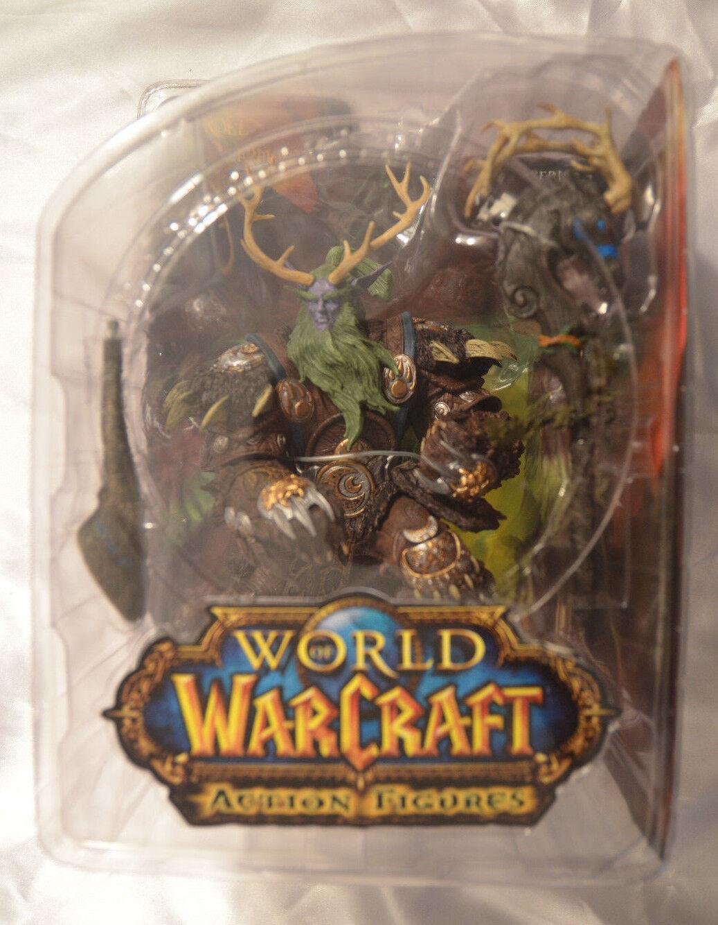 World of Warcraft Broll bearmantle ACTION FIGURE DC Comics Bonus Mini Cómic