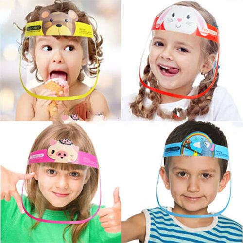 Kids Face Shield Full Mask Children School Cover Protection Safety Anti-Splash