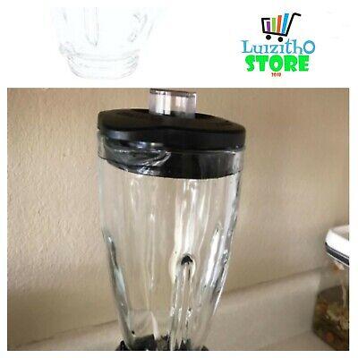 Oster BLSTAJ-CB Blender 6-Cup Glass Jar Black Lid
