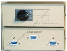 All Female}DB9 pin Serial RS232 2way AB data cable/cord/wire Switch Box$SHdisc{F