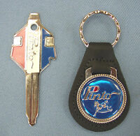 Vintage Ford Pinto Blue Key Ring & Factory Pinto Fix It Tool Key Set